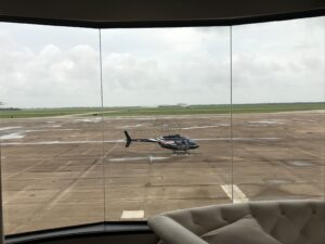 Black Helicopter And Sofa