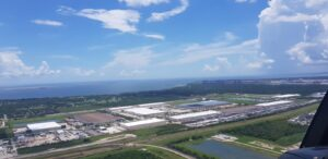 Aerial View Of Baytown Angle One