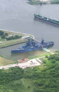 Aerial View Of Ships