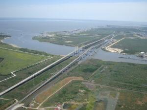 Aerial View Bridges