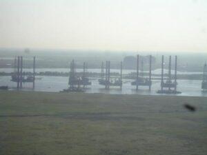 Foggy View Of Ocean