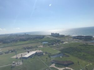 Aerial View Of Galveston Angle One