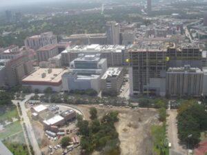 Aerial View Med Center, Houston,